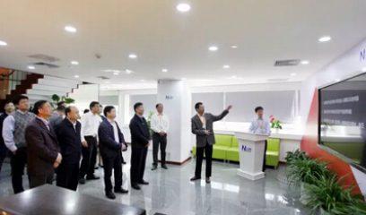 中国银监会主席尚福林莅临大北农集团调研