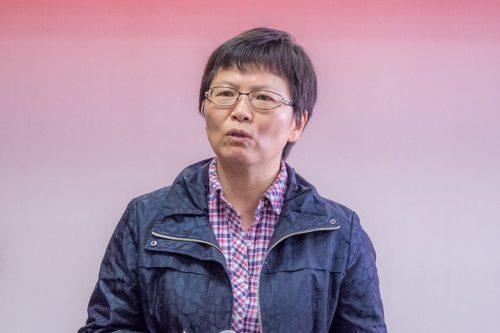 (中国畜牧兽医学会兽医寄生虫学分会理事长刘群致辞)
