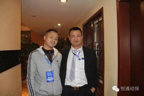 四川广安杨小林学员(左一)