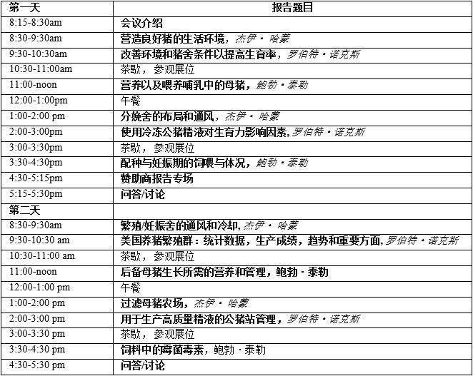 """018年国际养猪繁殖研讨会5月将在长沙隆重召开"""""""